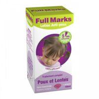Full Marks Lotion antipoux et lentes 100ml+peigne