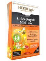 Herbesan Gelée Royale Miel - Zinc dès 4 ans B/20