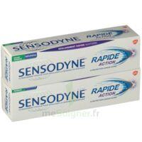 Sensodyne Rapide Pâte dentifrice dents sensibles 2*75ml