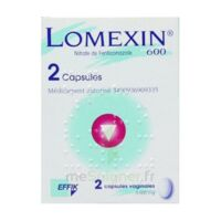 LOMEXIN 600 mg Caps molle vaginale Plq/2