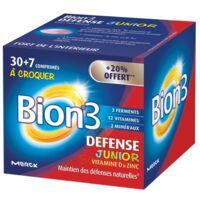 Bion 3 Défense Junior Comprimés à croquer framboise B/30+7