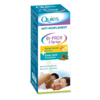 Quies Bi-Pack 2 Sprays buccal et nasale anti-ronflement