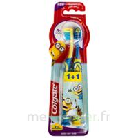 Colgate Brosse à dents à pile enfant Minions Blister/2