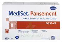 MediSet® set de pansement Post Op avec coupe-fil Pour grandes plaies - Boîte de 3 soins