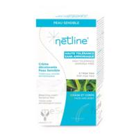 Netline Crème visage/corps décolorante peau sensible 30+30ml
