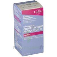 Gifrer Chlorhexidine Alcoolique Incolore 2 % Solution pour application cutanée 125ml