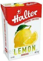Halter sans sucre Bonbon citron B/40g