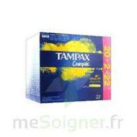 Tampax Compak - Tampon Régulier
