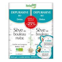 Herbalgem - Dépurasève Bio 250ml lot de deux