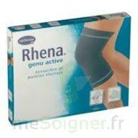 RHENA GENU ACTIVE Genouillère de maintien noir T2