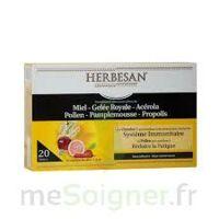 Herbesan Système Immunitaire 20 ampoules