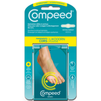 Compeed Soin du pied Pansements hydratant cors B/6
