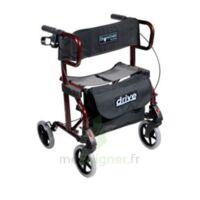 Rollator pliant et fauteuil de transfère