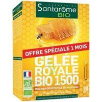 Santarome Bio Gelée royale Solution buvable 30 Ampoules/10ml