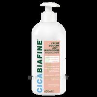 Cicabiafine Crème douche anti-irritations Bouteille Fl pompe/400ml
