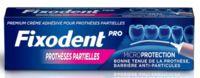 Fixodent Pro Crème adhésive pour prothèse partielle T/40g