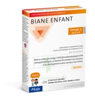 Pileje Biane Enfant Oméga 3, Vitamine D et E 27 pastilles gélifiées