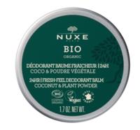 Nuxe Bio Déodorant Baume Fraîcheur 24h Toutes Peaux Pot/50g