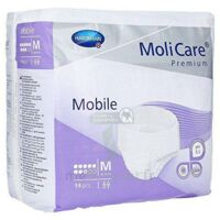 MoliCare Premium Mobile 8 Gouttes - Slip absorbant - Taille M B/14