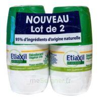 Etiaxil Végétal Déodorant 24H 2Roll-on/50ml