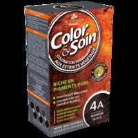 COLOR&SOIN Kit coloration permanente 4A marron glacé