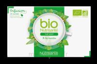 Nutrisanté Infusions Bio Thé Vert Menthe 20 Sachets
