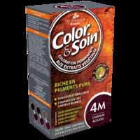 COLOR&SOIN Kit coloration permanente 4M châtain acajou