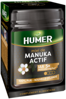 HUMER MIEL MANUKA ACTIF IAA 5+ POT/250G