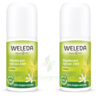 Weleda Duo Déodorant Roll-on 24H Citrus 100ml
