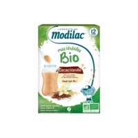 Modilac Céréales Farine cacao vanille dès 12 mois B/250g