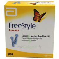 Freestyle Lancets Lancettes Stériles de Calibre 28G B/200