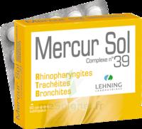 Lehning MERCUR SOL COMPLEXE N°39 Comprimés sublinguals B/60