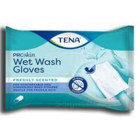 Tena Wet Wash Glove Gant Jetable Soft & Strong B/12