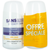Jonzac Eau Thermale Lot 2 déodorants Soin 2X50ML