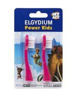 Elgydium recharge pour brosse à dents électrique AGE DE GLACE Power kids
