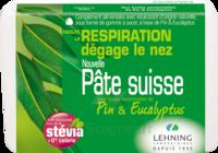 Lehning Pâte Suisse Pastilles à sucer Pin Eucalyptus B/50g