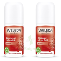 Weleda Duo Déodorant Roll-on 24H Grenade 100ml