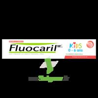 Fluocaril Kids Dentifrice Fraise 0-6 ans T/50ml