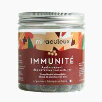 Les miraculeux Gummies Immunité Gommes B/42