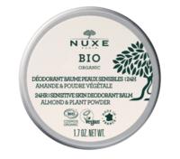 Nuxe Bio Déodorant Baume Fraîcheur 24h Peaux Sensibles Pot/50g
