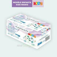 Masques médicaux 3 plis EN 14683 type IIR CE - MODELE ENFANTS / boite de 50 masques