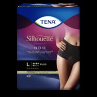 Tena Silhouette Plus Slip Absorbant Noir L Sachet/9