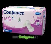 Confiance Lady Protection anatomique incontinence 4.5 gouttes Sachet/14
