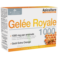3 CHENES PHYTOTHERAPIE FAMILIALE Solution buvable Gelée royale 1000 10 Ampoules/10ml