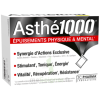 ASTHE 1000 Poudre à diluer épuisements physique & mental 10 Sachets