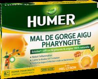 Humer Pharyngite Pastille mal de gorge Miel citron B/20