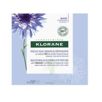 Klorane Bleuet Bio Patchs défatigants express 2 patchs