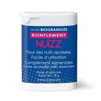 NUIZZ RONFLEMENT Granules Microbio ronflement obstruction voies respiratoires B/60