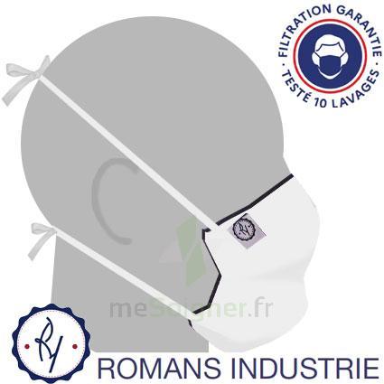 MASQUE ALTERNATIF - ROMANS INDUSTRIE - BLANC