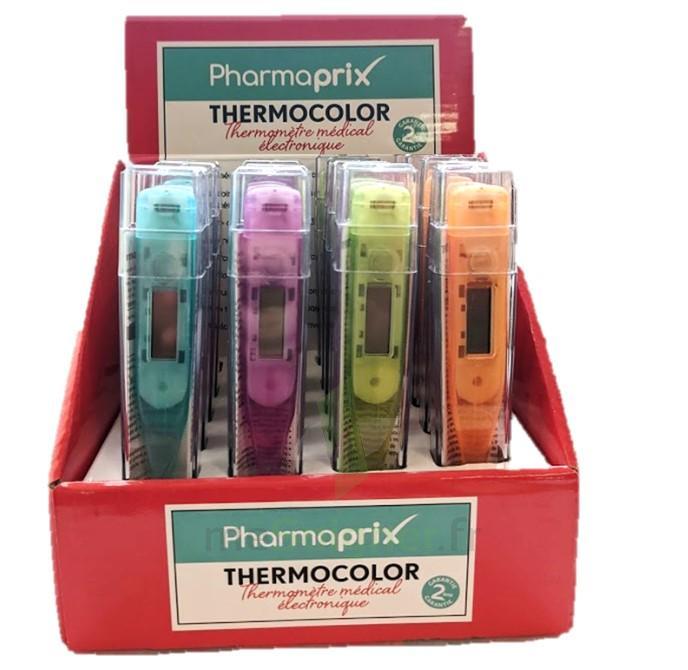 Thermomètre digital couleur